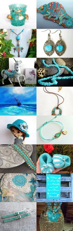 Another bit of azure by AneleArt on Etsy--Pinned with TreasuryPin.com