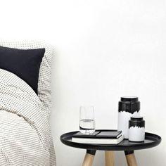 Scandinavian Design Vase by  Normann Copenhagen I The ICONIST #blackandwhite #homedecor
