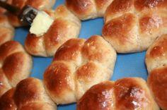 Volkorenbroodjes, zelf maken en niet kneden