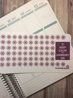 Jamberry logo stickers for your life by TheLittleStickerShop