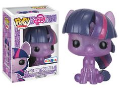 Toys R Us Exclusive Glitter My Little Pony Twilight Sparkle Funko POP