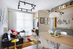 Pura inspiração: 3 soluções para um apartamento de 59 m² | Arquitetura e Construção