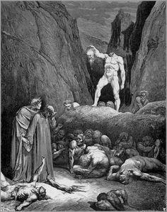 Gustave Doré - Illustration de la divine comédie de Dante