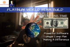 #branding Earn up to $166,800  over & over again on the worlds biggest team!!  One-time payment of $100    http://wu.to/vEkR7f