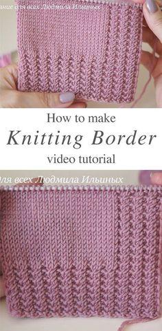 Knitting Paterns, Easy Knitting, Knit Patterns, Knitting Projects, Crochet Stitches, Knitting Designs, Easy Baby Knitting Patterns, Knitting Tutorials, Crochet Projects