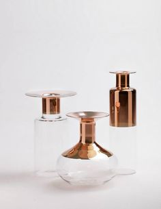 Tapio vases by Giorgio Bonaguro vases. A great homage to Tapio Wirkkala [photo by Andrea Basile Studio]