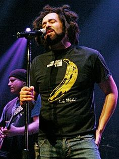 Adam Duritz (born August 1, 1964) is an American musician, songwriter, record producer, and film producer. He is best known for his role as frontman and vocalist for the rock band Counting Crows, in which he is a founding member and principal composer of their catalogue of songs.
