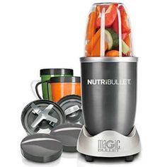 Enter to Win A Magic Bullet NutriBullet 12-Piece High-Speed Blender/Mixer System…
