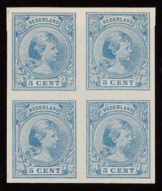 Wilhelmina-postzegels
