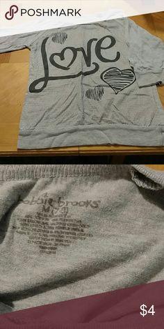 Bobbie brooks shirt Bobbie Brooks shirt. Excellent condition. Smoke free home. Size 7/8 girls. Bobbie Brooks Shirts & Tops Tees - Short Sleeve