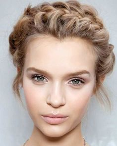 Natural makeup for party or wedding