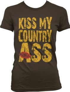 Kiss My Country Ass Lipstick South Farmer Small Town America Usa Girls Tank Top Country Girl Outfits, Country Girls, Country Life, Country Style, Southern Outfits, Country Fashion, Summer Outfits, Cute Outfits, Swag Outfits
