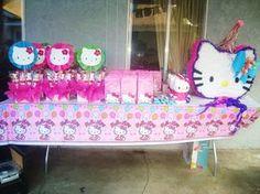 hello kitty birthday party ideas   Hello Kitty / Birthday / Dessert Table: