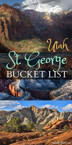 The American West calls to us. Here's a list of things to do in St. George, … The American West calls to us. Here's a list of things to do in St. George, Utah that are absolutely on our bucket list. Have you been to this amazing area? The Places Youll Go, Places To See, Utah Vacation, Vacation Ideas, Vacation Travel, Family Vacations, Family Travel, St George Utah, Saint George