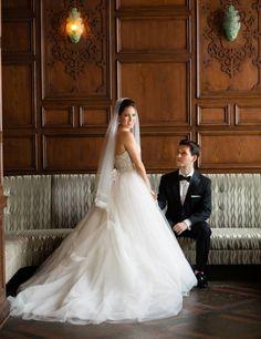 romantic plaza hotel wedding new york traditional chuppah jewish