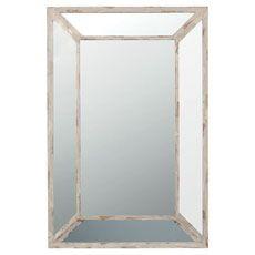 Marco Mitred Wall Mirror Oka 90 x 60 cm w £225