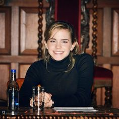throwback! First official picture from +Emma Watson's Oxford Union speech in 2006. ctto