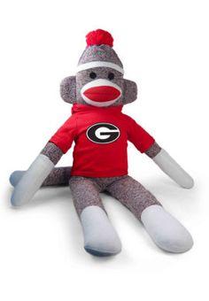 4fe19b6a17b Product  University of Georgia 40-inch Sock Monkey Plush University Of  Georgia