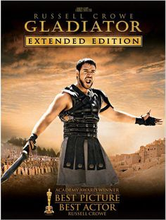 Gladiator (2000) my father and I went to movies to watch this one, everytime I see it cant help but love it....looking at Russell crowe doesn't hurt either..