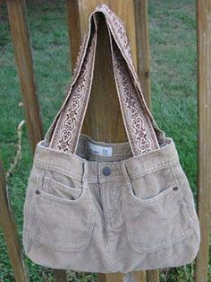 DIY Jeans : DIY Sew Easy Skirt Tote