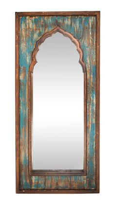Farmhouse Mirrors, Rustic Mirrors, French Farmhouse, Gothic Mirror, Living Room Turquoise, Bathroom Accents, Handmade Mirrors, Mirrors Wayfair, Wood Mirror