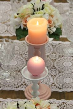 #kynttilä #pallokynttilä #Puttipaja Pillar Candles, Tea Lights, Candle Holders, Tea Light Candles, Light House, Taper Candles, Candle Stands