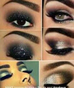 MAKE inspiração para o fim de ano! #makeup #smokeyeyes #dicadajack #jacquelinefraga