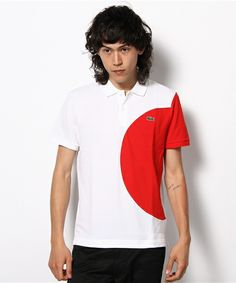 Flags Polo Shirt, LACOSTE