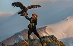 How a movie about eagle hunting nabbed a 'Star Wars' lead actor and a chart-topping singer