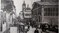 Antiguo mercado del racional barrio de La Magdalena, corazón urbano de Ferrol