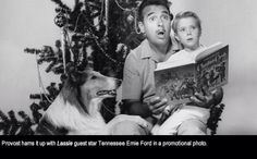 Jon Provost and Lassie on Tennessee Ernie Ford show