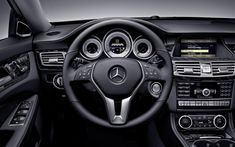 Interior of Mercedes CLS