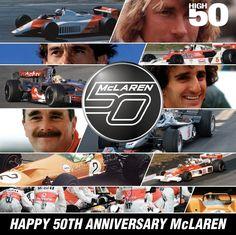 McLaren - 50th anniversary