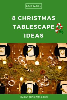 What better way to make your festive feast memorable than to steal one (or two) of these Christmas tablescape ideas? 8 adorable Christmas tablescape ideas for a beautiful dinner table! #Christmas #Christmasdinner #Christmastable #Christmastablescapeideas Christmas Table Centerpieces, Country Christmas Decorations, Christmas Tablescapes, Christmas Drinks, Christmas Parties, Christmas Makes, All Things Christmas, Family Traditions, Christmas Traditions