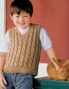 New Knitting Men Cardigan Baby Boy Ideas Crochet For Boys, Knitting For Kids, Baby Knitting, Baby Boy Vest, Kids Vest, Baby Pullover, Baby Cardigan, Men Cardigan, Men Sweater