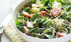 Knapperige salade met witte kool, appel en rozijn – Phood.nl