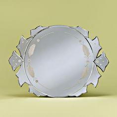 Venetian Gems Alodia Mirror Tray - VC-04