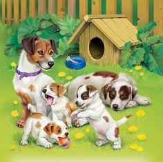 Фото, автор Manul на Яндекс.Фотках Farm Animals, Animals And Pets, Cute Animals, Dog Habitat, Cute Animal Illustration, Easiest Dogs To Train, Puppy Images, Animal Habitats, Small Art