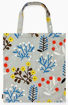 print & pattern blogs bag by MARIMEKKO