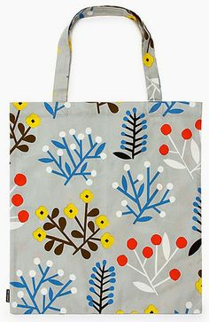 print & pattern blogs bag by MARIMEKKO