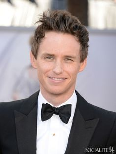 Eddie Redmayne At The 2013 Academy Awards