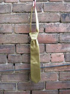 Yellow with Navy Pindot Tie by HighboyMenswear on Etsy