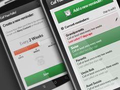 Koa Metter | Call Reminders...  http://dribbble.com/shots/108271-Call-Reminders-