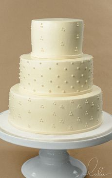 White on White lace cake 100% Pure buttercream by Lulu Cake Boutique in Scarsdale, New York. www.everythinglulu.com