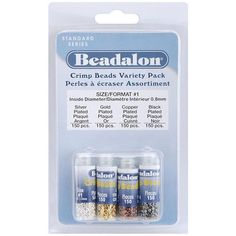 Beadalon Crimp Beads Variety Pack