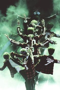 """1..2...3 We Are One We Are EXO"" 12 Make A Great Tree isn't?"