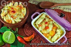 É uma deliciosa dica de #almoço este leve e saudável Filé de Frango ao Molho de Iogurte!  #Receita aqui: http://www.gulosoesaudavel.com.br/2013/06/19/file-frango-molho-iogurte/