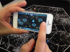 Hybride Games aus Smartphone-App und analogen Spielkomponenten liegen im Trend.