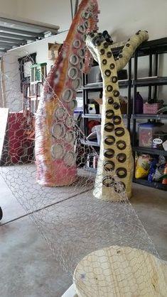 Making a Kraken, Sea Monster, Giant Octopus for your Pirate Themed Halloween-halloween-kraken-sea-monster-25.jpg