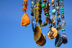 Handmade bijou #handmade #bijou #nacklace